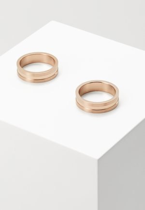 2 PACK - Sormus - rose gold-coloured