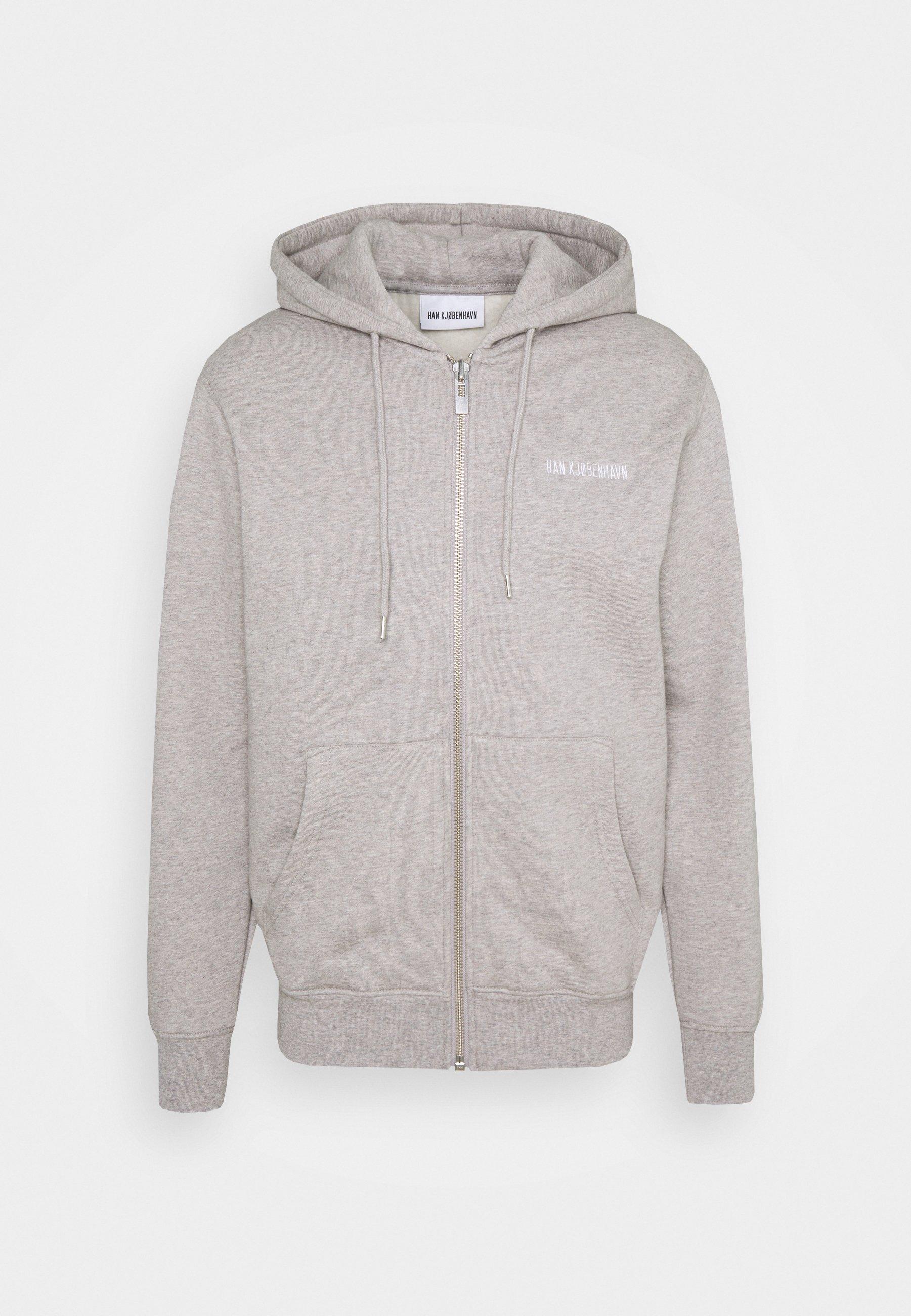 Men CASUAL ZIP HOODIE - Zip-up sweatshirt