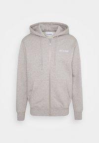 Han Kjøbenhavn - CASUAL ZIP HOODIE - Zip-up hoodie - grey melange - 0