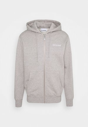 CASUAL ZIP HOODIE - Zip-up hoodie - grey melange