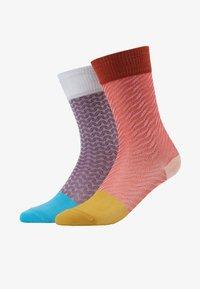Hysteria by Happy Socks - LUCIA MID HIGH 2 PACK  - Socks - multi - 1