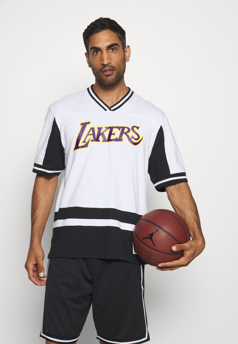 Mitchell & Ness - NBA LOS ANGELES LAKERS FINAL SECONDS - Article de supporter - black/white