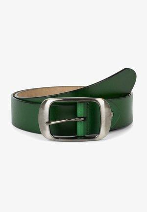 MIT GLÄNZENDER OBERFL - Belt - dunkelgrün