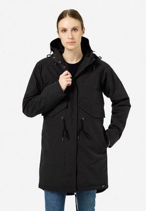 OCEAN NET - Winter coat - jet black