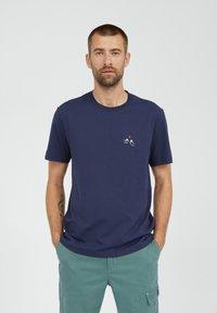 ARMEDANGELS - T-shirt basic - light pacific ink - 0