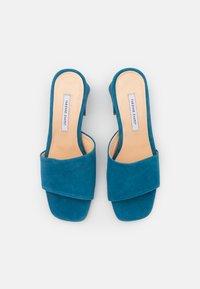 Fabienne Chapot - TED MULE - Heeled mules - steel blue - 5