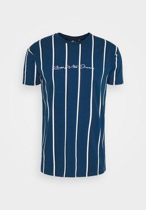 KINGS WILL DREAM MOFFAT - Camiseta estampada - sailor blue