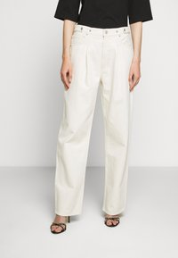 Agolde - BAGGY TAB - Jeansy Relaxed Fit - paper - 0