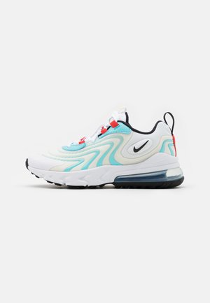 AIR MAX 270 REACT - Tenisky - white/black/bleached aqua/chile red