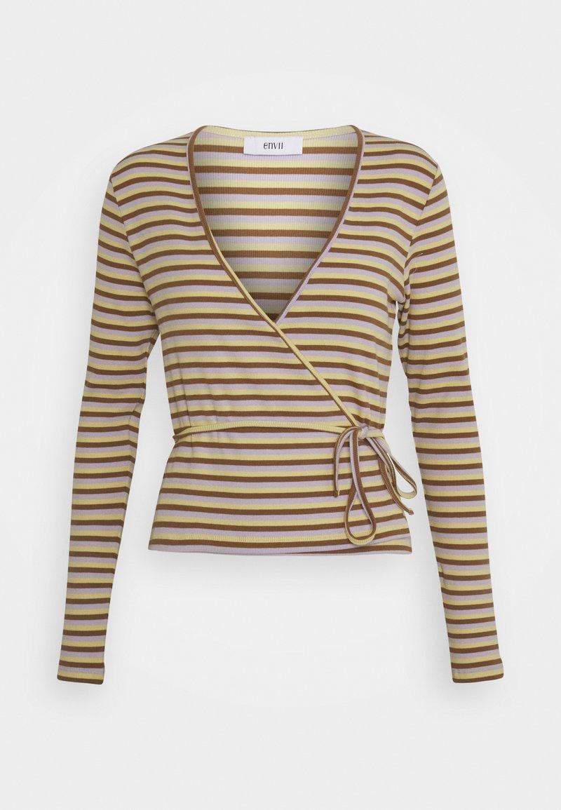Envii - ENALLY TEE - Langærmede T-shirts - gelato