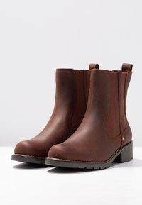 Clarks - ORINOCO HOT - Classic ankle boots - braun - 4