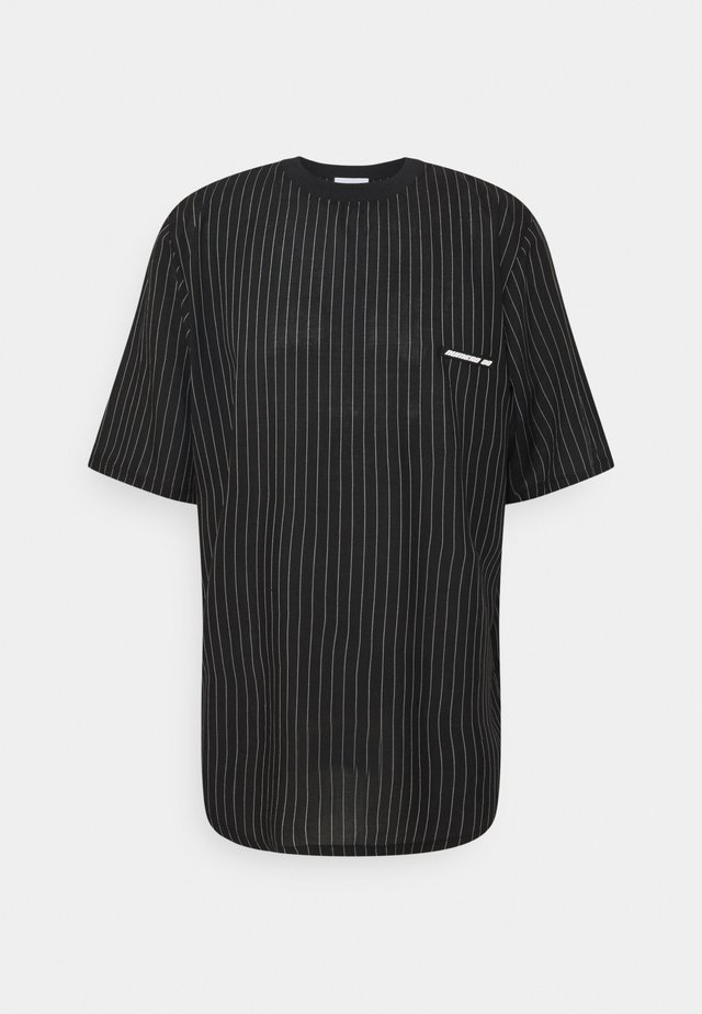 STRIPED TEE - T-shirt print - black