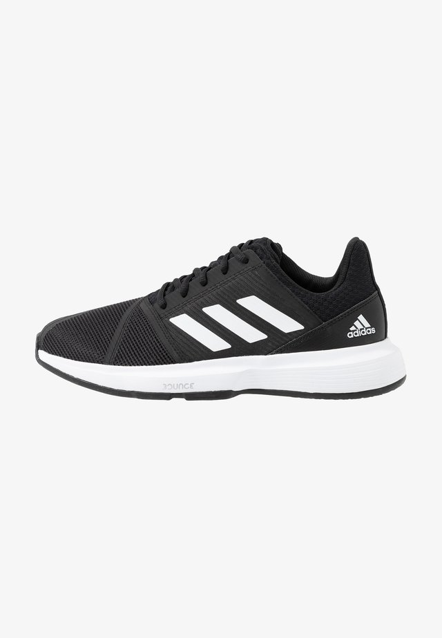 COURTJAM BOUNCE - Scarpe da tennis per tutte le superfici - core black/footwear white