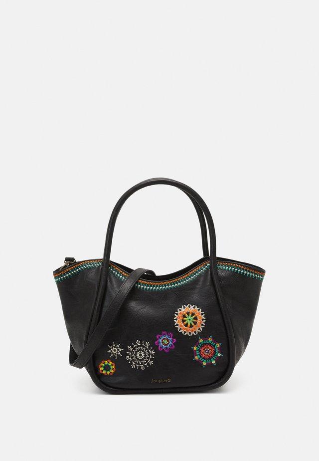 BOLS CARLINA ROTTUM SET - Handbag - marron oscuro