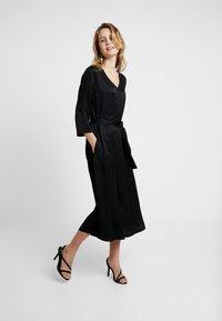 Kaffe - KAVELLA DRESS - Shirt dress - black deep - 2