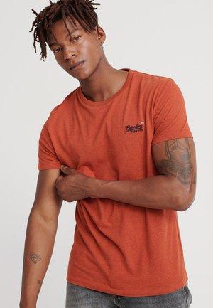 Basic T-shirt - sierra orange