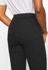 Topshop - JONI  - Jeans Skinny Fit - black - 4