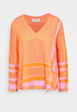 Bluse - tangerine