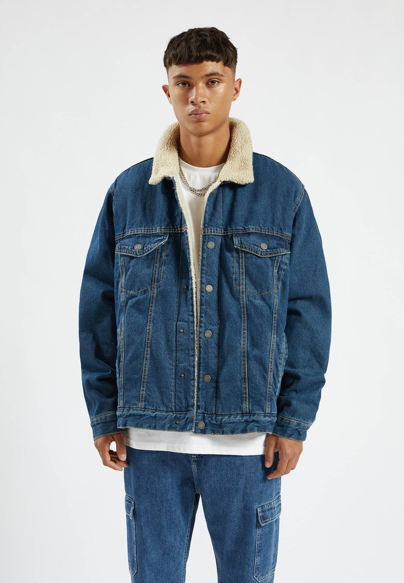 PULL&BEAR - Denim jacket - dark blue