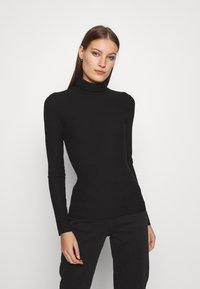 Zign - T-shirt à manches longues - black - 0