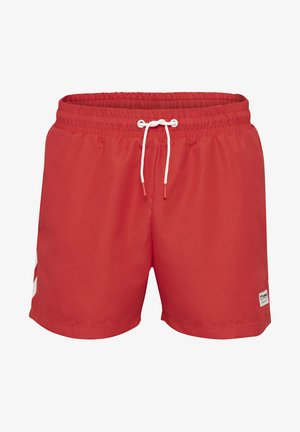 HMLRENCE - Swimming shorts - high risk red