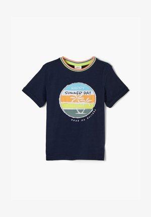 MIT PRINTMOTIV - T-shirt con stampa - dark blue