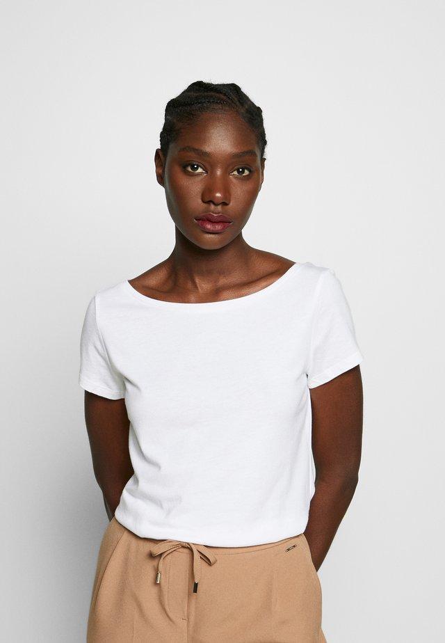 SCOOP - Basic T-shirt - white