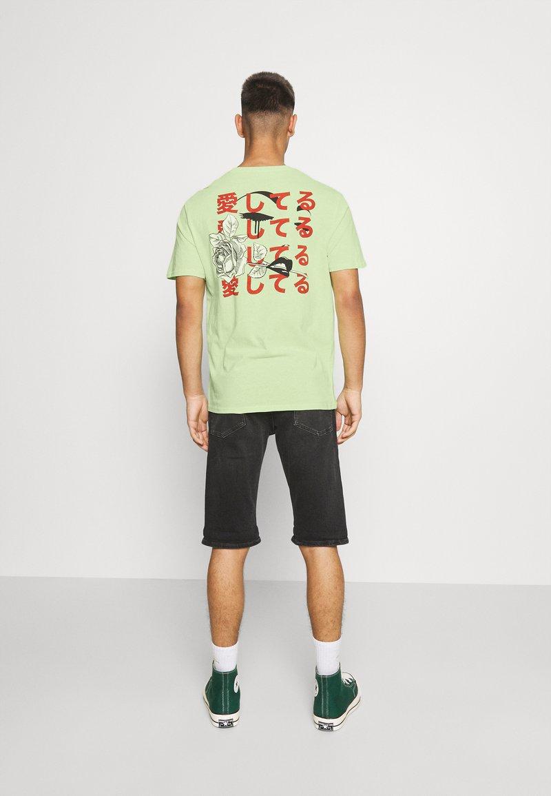YOURTURN - UNISEX - T-shirt imprimé - light green