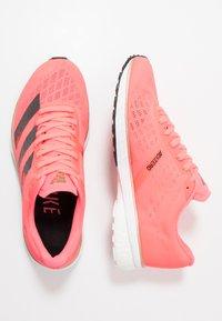 adidas Performance - ADIZERO ADIOS 5 - Competition running shoes - signal pink/core black/copper metallic - 1