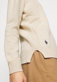 Polo Ralph Lauren - CLASSIC LONG SLEEVE - Jumper - tallow cream - 6