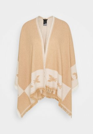 Cape - camel/white