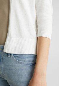 Esprit - OFFENER - Cardigan - off white - 3