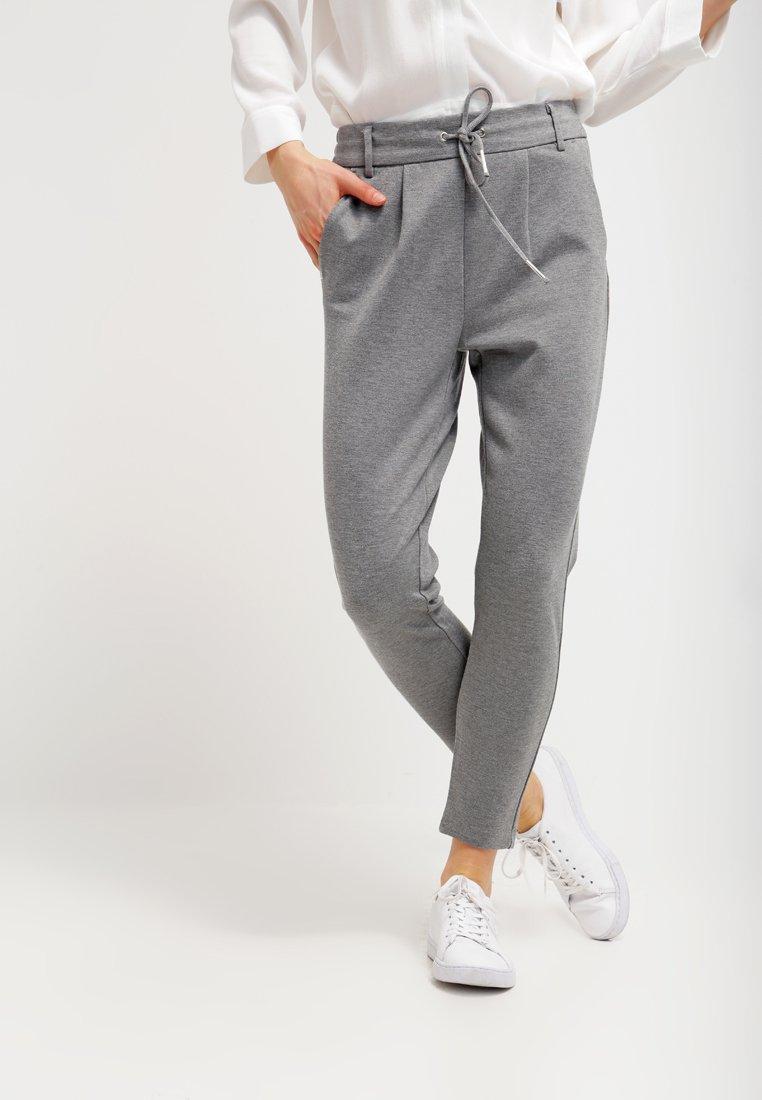 ONLY - POPTRASH EASY COLOUR PANT - Bukse - medium grey melange
