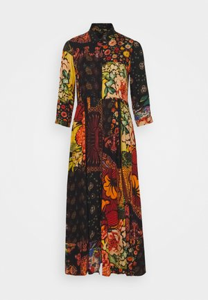 TURIN DESIGNED BY CHRISTIAN LACROIX - Robe longue - granate oscuro