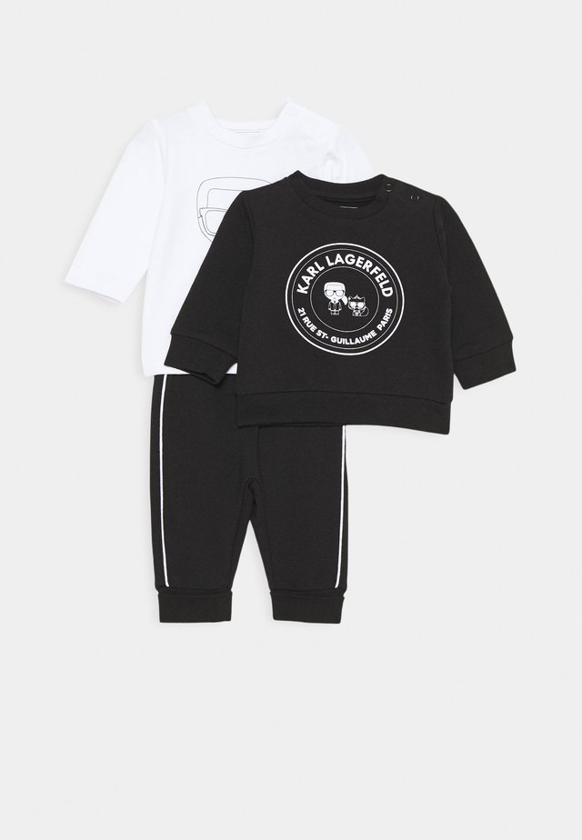 TRACK SUIT UNISEX SET - Tracksuit - black