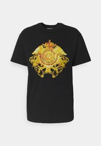 Versace Jeans Couture - MARK - T-shirt med print - black - 5