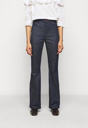 FIONA THINKTWICE - Široké džíny - dark blue