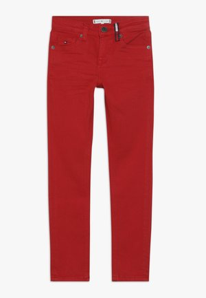 NORA SKINNY - Jeans Skinny Fit - red