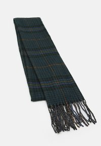 Burton Menswear London - TARTAN SCARF - Scarf - green - 0