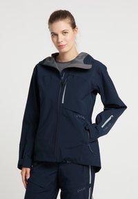 PYUA - Waterproof jacket - navy blue - 0
