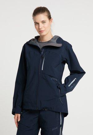 Waterproof jacket - navy blue