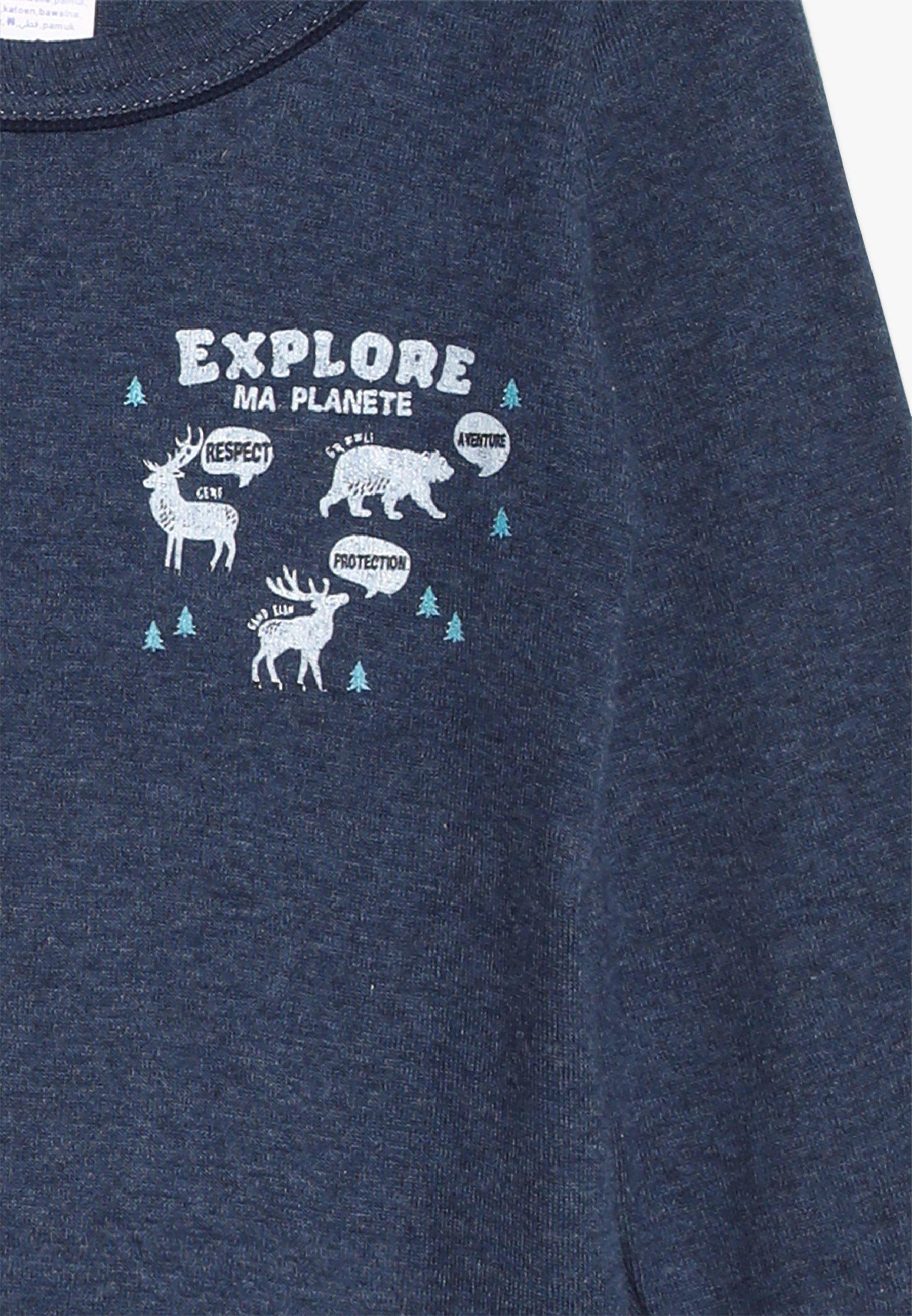 Absorba 2 Pack - Undershirt Navy Blue