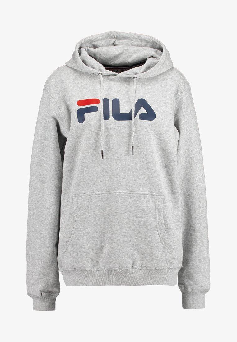 Fila PURE HOODY - Kapuzenpullover - light grey melange/hellgrau 3nF9vN