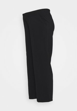 PCMBELIA WIDE PANT - Trousers - black