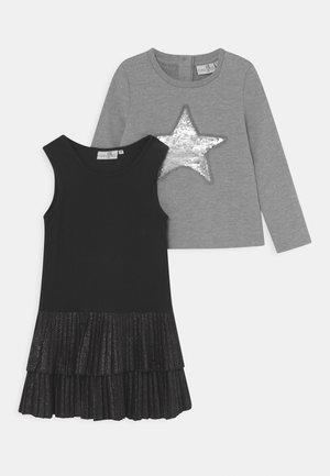 SET - Sweatshirt - grey melange