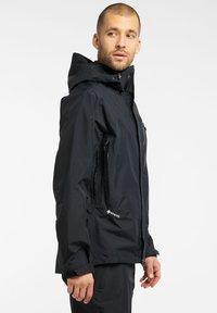 Haglöfs - ASTRAL GTX JACKET - Hardshell jacket - true black - 2
