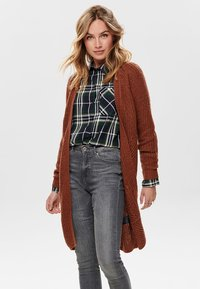 ONLY - ONLBERNICE - Cardigan - rustic brown - 0