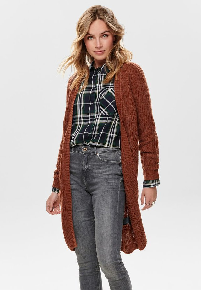 ONLBERNICE - Cardigan - rustic brown