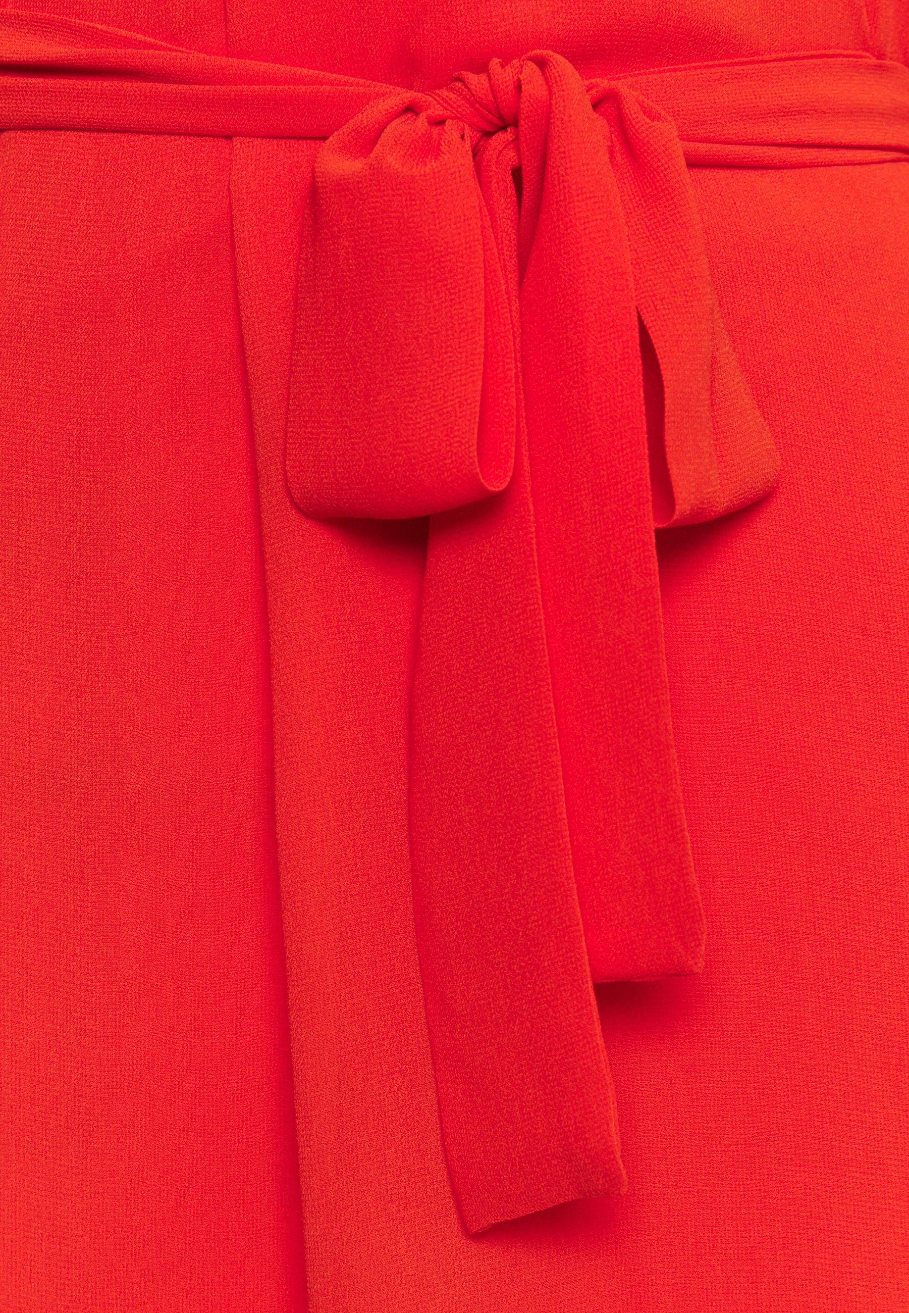 Esprit Collection DRESS - Robe d'été - red orange - Robes femme hlA3M