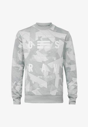 TAPE AOP - Sweatshirt - cool grey tape camo